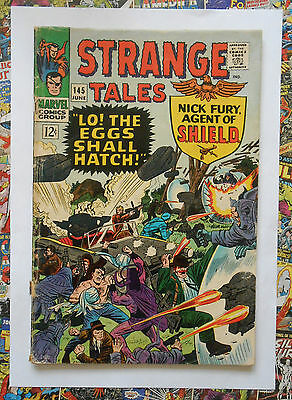 Strange Tales #145 - Jun 1966 - Druid Appearance! - Vg- (3.5) Cents Copy!