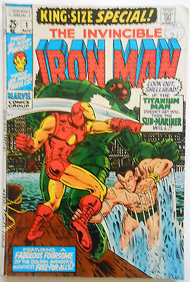 Iron Man King-Size Special #1 - Aug 1970 - Sub-Mariner Appearance! - Fn+ (6.5)
