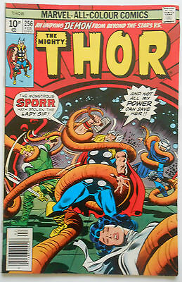 THOR #256 - FEB 1977 - SECURITRONS 1st APPEARANCE! - VFN/NM (9.0) PENCE COPY!