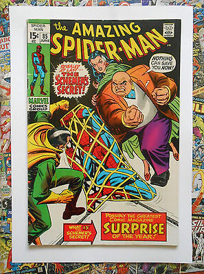 Amazing Spider-Man #85 - Jun 1970 - Kingpin Appearance! - Fn (6.0) Cents Copy!