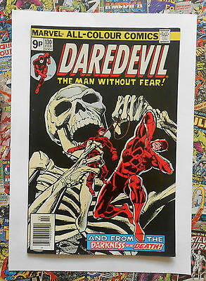 Daredevil #130 - Feb 1976 - Brother Zed Appearance! - Vfn (8.0) Pence Copy!!