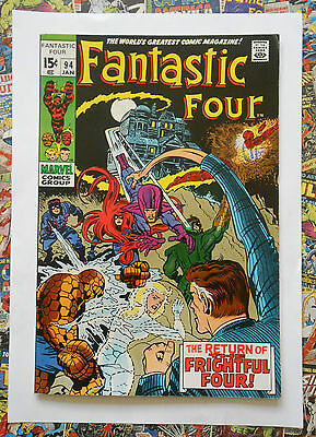 Fantastic Four #94 - Jan 1970 - Frightful Four Appearance  - Fn+ (6.5) Hot!!!