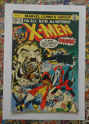 X-Men #94 - Aug 1975 - New X-Men Begin! - Vg/fn (5.0) Mega Rare Bronze Age Key!