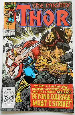 Thor #414 - Feb 1990 - Ulik Appearance! - Nm (9.4)