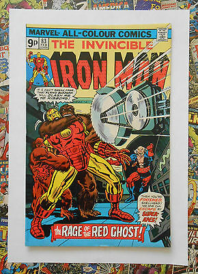 Iron Man #83 - Feb 1976 - Red Ghost Appearance! - Vfn+ (8.5) Pence Copy!