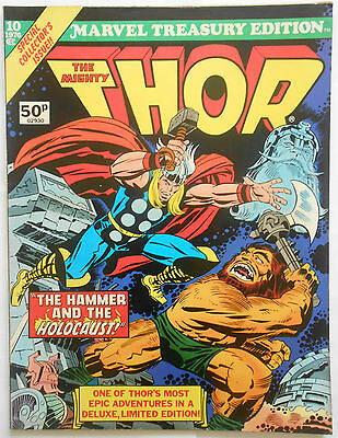 Marvel Treasury Edition #10 -1976- The Mighty Thor - Vfn/nm (9.0) Pence Copy