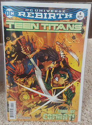 Teen Titans #4 (2017) DC Rebirth Comics - First Print - New/Unread