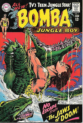 Bomba The Jungle Boy Comic Book #1 Movie Series, DC Comics 1967 FINE+