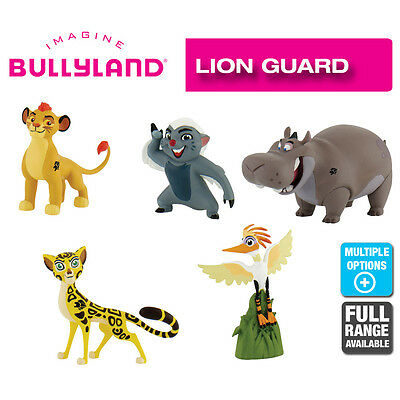Official Bullyland Disney Lion Guard Figurines 5 Cake Topper Figures to Collect