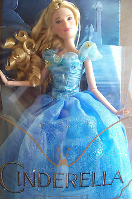 "Disney Store Collectible ""cinderella""  Live Film Collection Doll 11"" Doll"