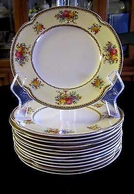 "Vintage CORONADO by JOHNSON BROTHERS Pareek 7 1/8"" Dessert Plate ~  13 AVAILABLE"