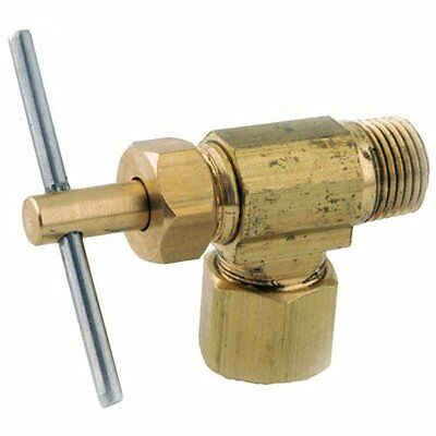 Anderson Metals 759103-0402 1/4-Inch  by 1/8-Inch  Low Lead Angle Needle Valve