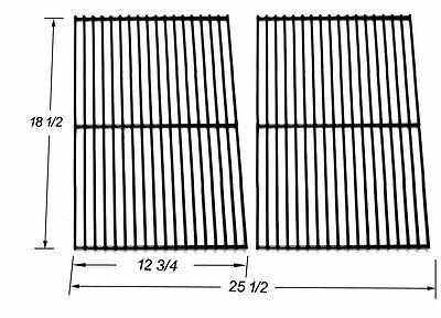 NEW BBQ Factory 54712 Porcelain Steel Wire Cooking Grid Replacement Grill Racks