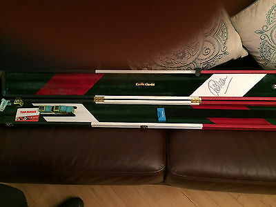 Cheddar Classics 3/4 Size Leather Snooker Case - Signed By Ronnie O'sullivan