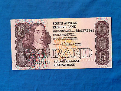 1990-94 South Africa 5 Rand Banknote *P-119e*       *XF*