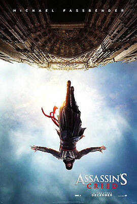 ASSASSIN'S CREED Movie Poster (A2: 40 x 59 cm)