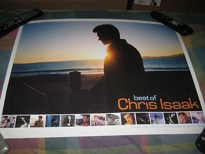CHRIS ISAAK-(best of)-1 POSTER-18X24-NMINT-RARE