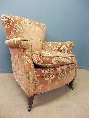 Antique Victorian/edwardian Ladies  Armchair Circa 1900