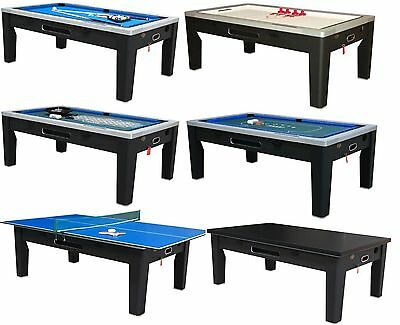 6 In 1 COMBO GAME TABLE ~POOL~AIR HOCKEY~PING PONG~ROULETTE