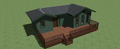 Tiny House Plan 400 sq.ft. with Energy-Saving Checklist and Greenhouse Plans
