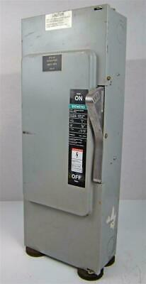 Siemens I-T-E Enclosed Switch - Nf-354, Series A Type 1, 200A