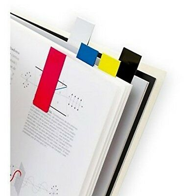 Magnetic Colourful Bookmarks Set of 5 Mixed Colours Page Note Markers