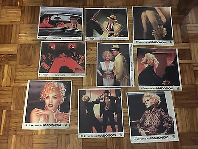 Lot Madonna Dick Tracy Truth or Dare lobby cards  Musical  Documentary