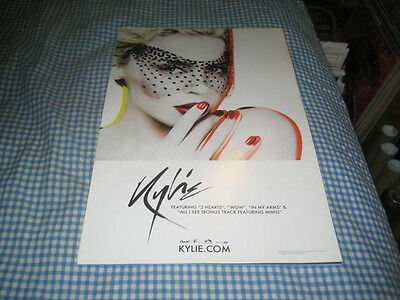 KYLIE MINOGUE-(kylie)-1 POSTER-11X17-NMINT-RARE