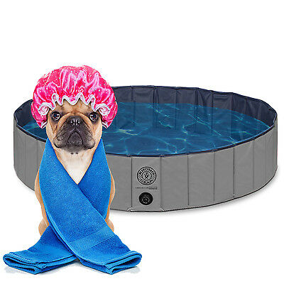 Pet Pool Outdoor Swimming Pool Bathing Tub - Portable Foldable - Ideal for Pets