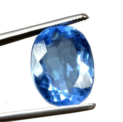 Awesome 18.02 ct Beautiful Transparent Oval Mixed Lab Created Blue Topaz GN-2942
