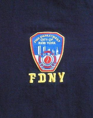NEW YORK CITY FIRE DEPARTMENT Dept FDNY embroidered patch logo shirt
