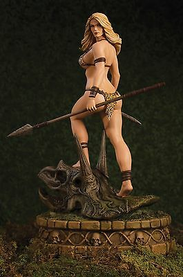 Women Of Dynamite Frank Cho Jana Jungle Girl Statue 600 Es ~Brand New~