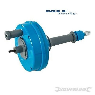 Silverline Drill Powered Drain Cleaner 14mm  Auger sink 6mm x 6m 6mm hex 987173