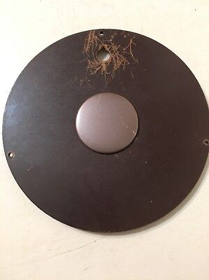 Vintage Seth Thomas Brookfield 6W Banjo Clock Rear Access Panel Back Door