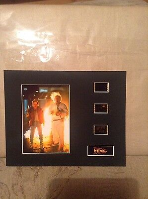 Back to the future   10 x 8 film cell display