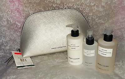 FCUK~Beauty In The Bag Gift Set Body Wash Spray Lotion & Bag-NEW