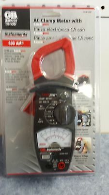 NEW!!!  AC CLAMP METER with LOCKJAW  GCM-500 Free Shipping!!! GARDNER BENDER