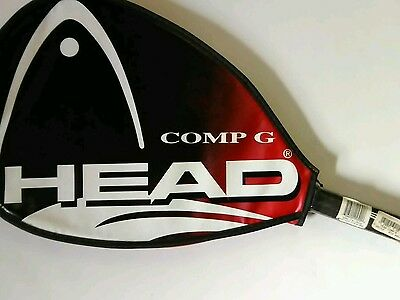 Head Comp G racketball racket with cover