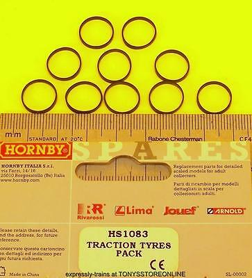 hornby international ho spare hs1083 1x pack traction tyres11mm approx hr2002/13