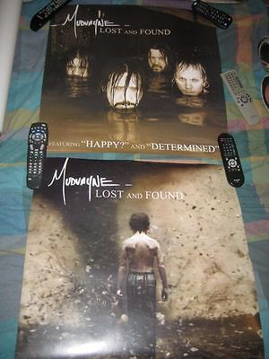 MUDVAYNE-(lost and found)-24X24 POSTER-2 SIDED-MINT-RARE