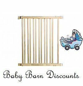 NEW Dreambaby - Nelson Wooden Gate - 76-122cm - F826 from Baby Barn Discounts