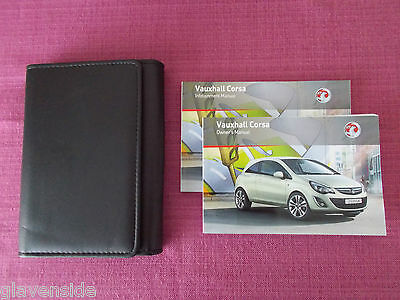 Vauxhall Corsa Owners Manual - Guide - Handbook  Includes Vxr (Yjl 761)