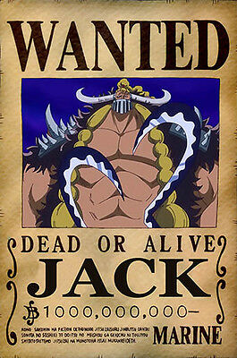 One Piece WANTED Poster (26 x 40 cm)  – JACK