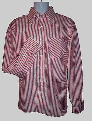 NEW 2xl MODERNACTION Red Stripe Shirt Skinhead Mod Jimmy Cliff Dandy Livingstone