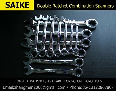 Ratchet Combination Wrench Spanner Hand Tools Set Torque Socket Gear Wrench Set