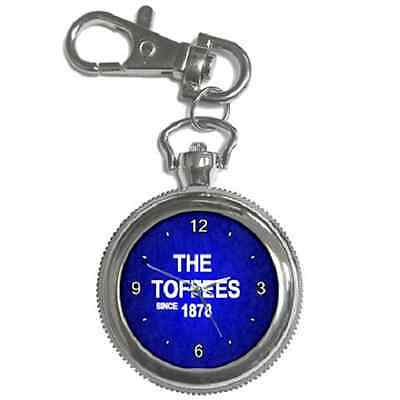 The Toffees Since 1878 Everton Round Keychain Watch **great Gift Item**
