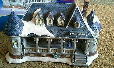 Bayside Inn 2007 Blue Waters Collection Christmas Lighted Village