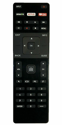 US New Vizio XRT122 Smart TV Replacement Remote with Amazon/Netflix/iHeart Key