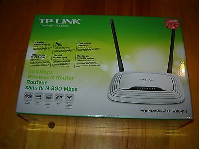 TP-Link TL-WR841N 300 Mbps 4-Port 10/100 Wireless N Router