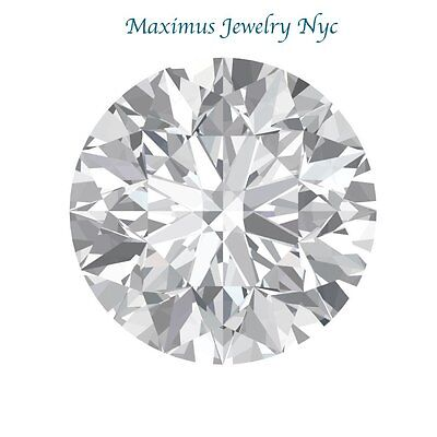 2.8CT Forever One Moissanite Loose Stone Round Cut 9mm Charles & Colvard